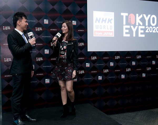 singapore-emcee-lester-leo-with-celebrity-michelle-chong-tokyo-eye-2020