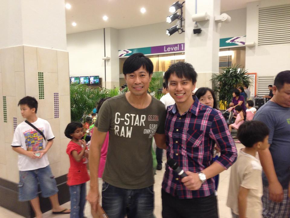huang shi nan with Emcee Lester Leo