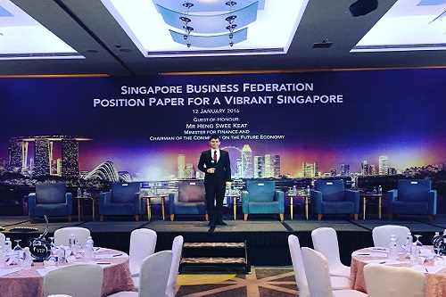 Conference emcee singapore - Lester Leo