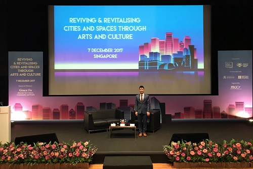 seminar emcee lester leo singapore