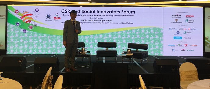 CSR and Social Innovators Forum with Minister