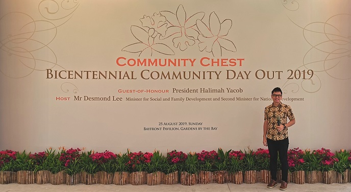Community Chest Bicentennial event with President Halimah Yacob