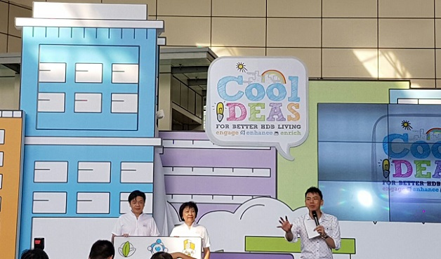 HDB Cool Ideas for Better HDB living with Minister Lawrence Wong and Emcee Lester Leo