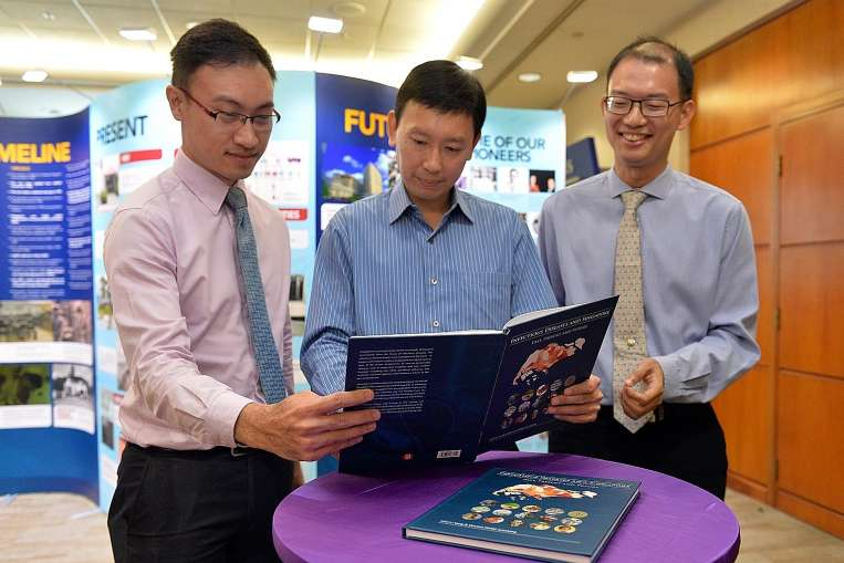 Launch of book and video, Infectious Diseases and Singapore Past, Present and Future with Minister of State Chee Hong Tat