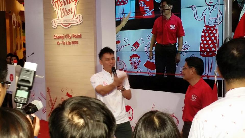 MOE SG50 with Minister for Education Heng Swee Keat and Emcee Lester Leo