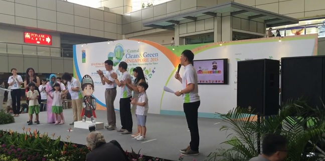 NEA Central Clean and Green launch with Minister Chan Chun Sing