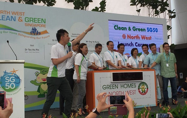 NEA north west clean & green with Minister