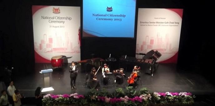 National Citizenship Ceremony with Emeritus Senior Minister (ESM) Goh Chok Tong