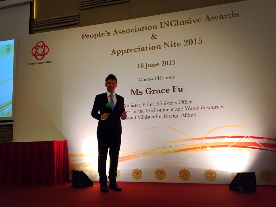 PA INC Awards with Minister Grace Fu and Emcee Lester Leo