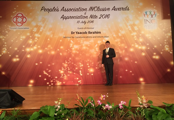 PA INClusive Awards 2016 with Minister Yaacob