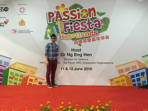 PA Passion Fiesta with Minister for Defense Ng Eng Hen