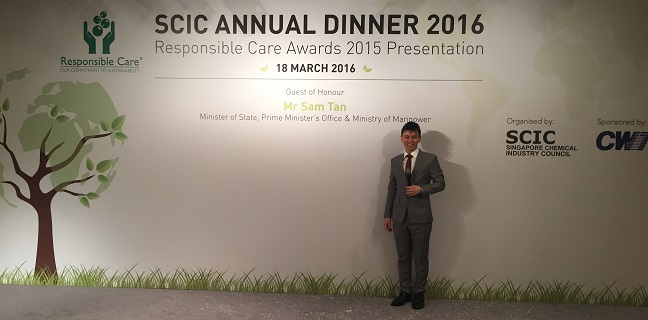 SCIC Annual Dinner 2016 with Minister of State Sam Tan