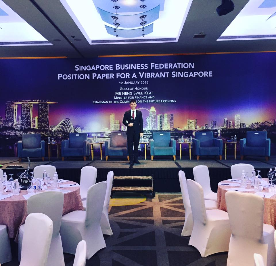 Singapore Business Federation Position White Paper with Minister for Finance Heng Swee Keat
