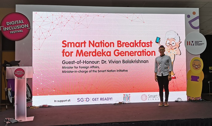 Smart Nation event with Minister Vivian Balakrishnan