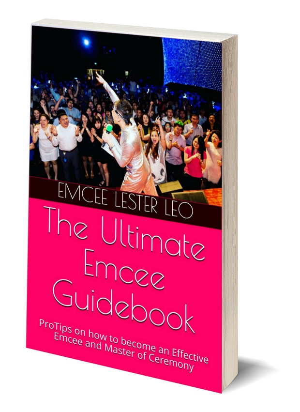 Ebook Book Cover - The Ultimate Emcee Guide - Pro Tips on how to become an effective Emcee and Master of Ceremony