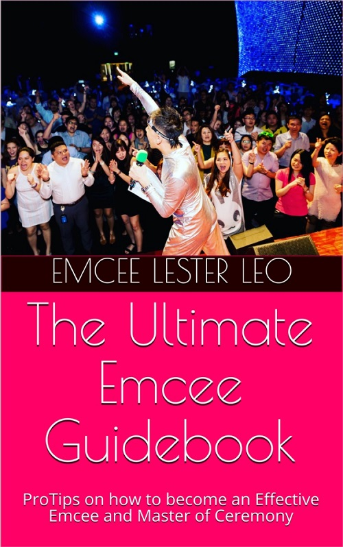 Ebook Cover - The Ultimate Emcee Guide - Pro Tips on how to become an effective Emcee and Master of Ceremony