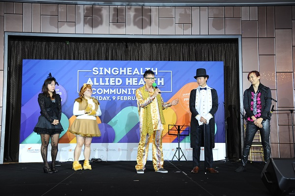 SingHealth Allied Health Community Day 2018 with Emcee Lester