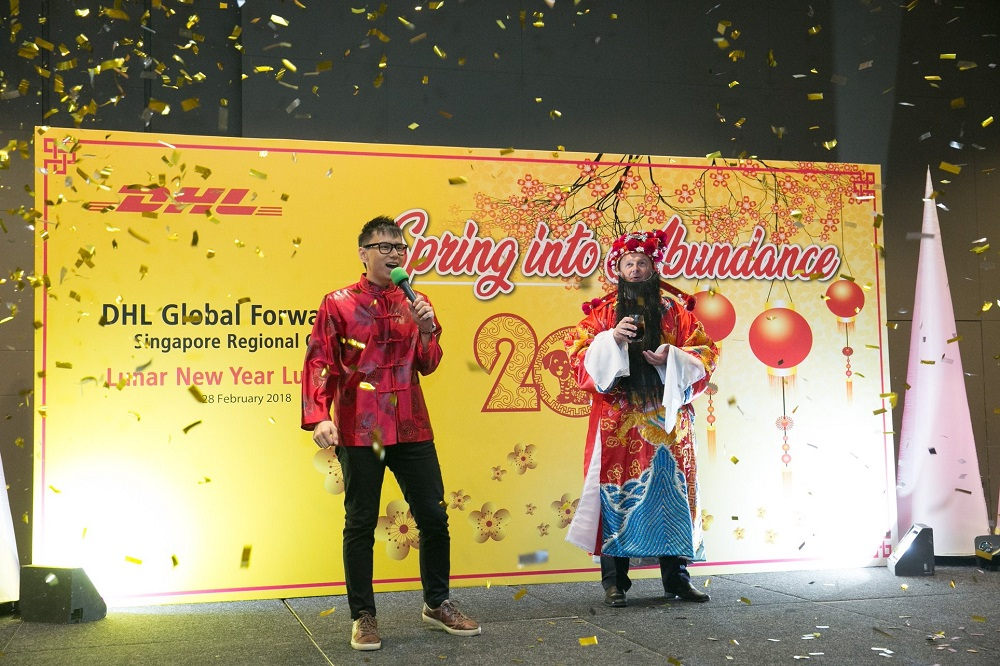 DHL Global Forwarding Chinese New Year Luncheon