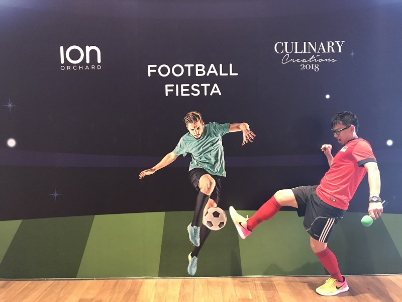 Ion Orchard Football Fiesta Culinary Creations 2018