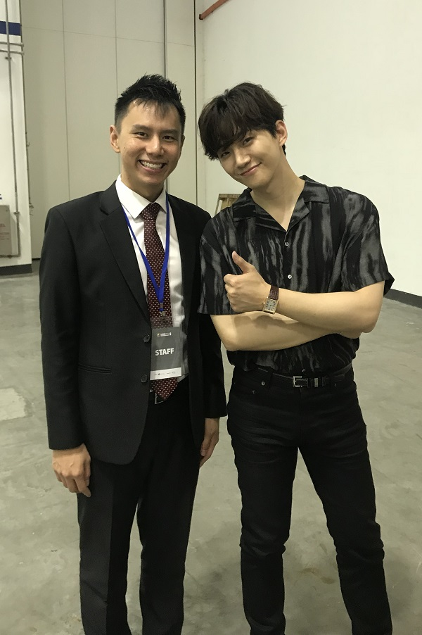 Lee Jun Ho of 2PM at KBEE Singapore 2018