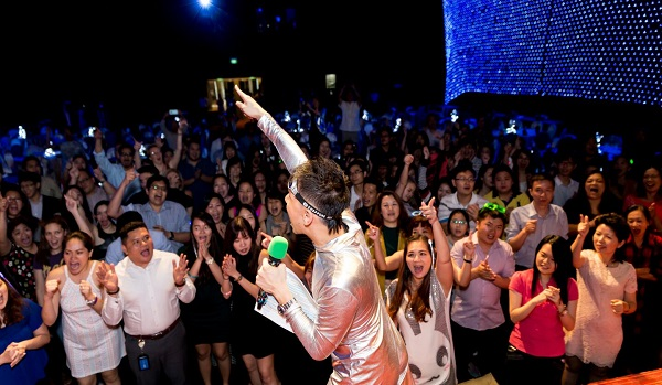 Emcee services singapore - party event