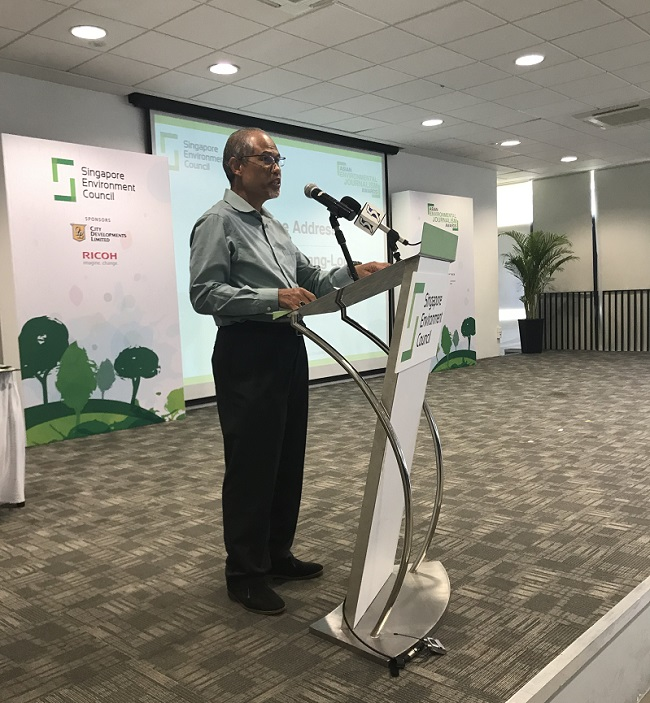 AEJA by Singapore Environment Council - Minister Masagos
