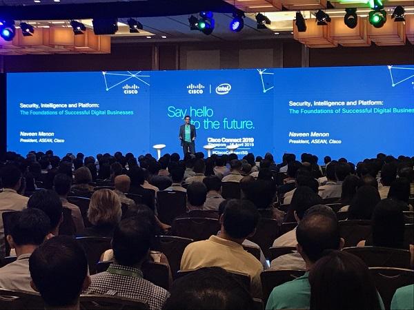 Cisco connect 2019 - main plenary
