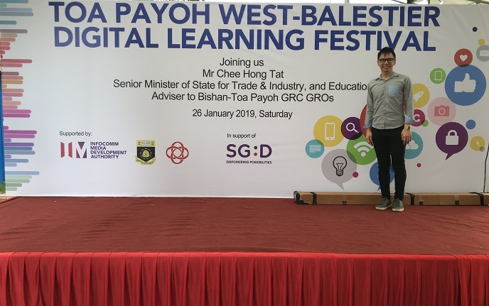 Digital Learning Festival - Government roadshow event - emcee lester