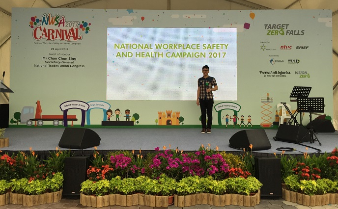 Launch of National Workplace Safety and Health Campaign 2017 - government campaign event