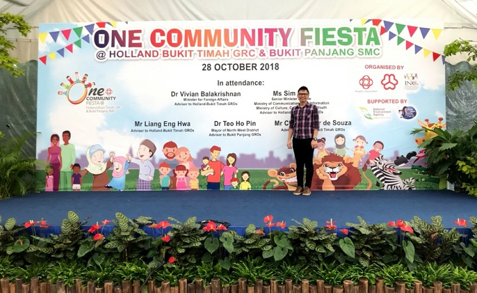 One Community Fiesta (Holland Bukit Timah GRC) community event PA
