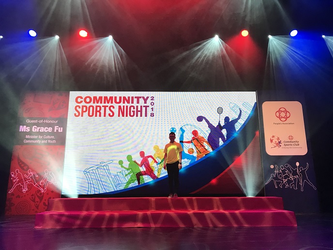 PA community sports night 2018 - government community event - emceelester