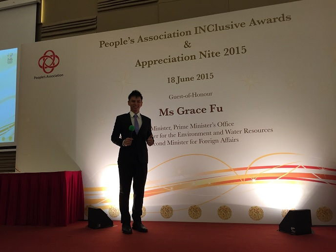 People's association inclusive awards and appreciation night - emcee lester leo