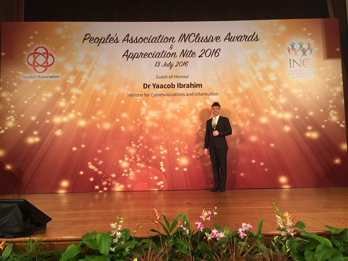 People's association inclusive awards and appreciation night - emcee lester