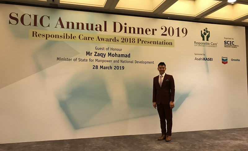 SCIC Annual Dinner 2019 and Responsible care awards 2018 with emcee lester
