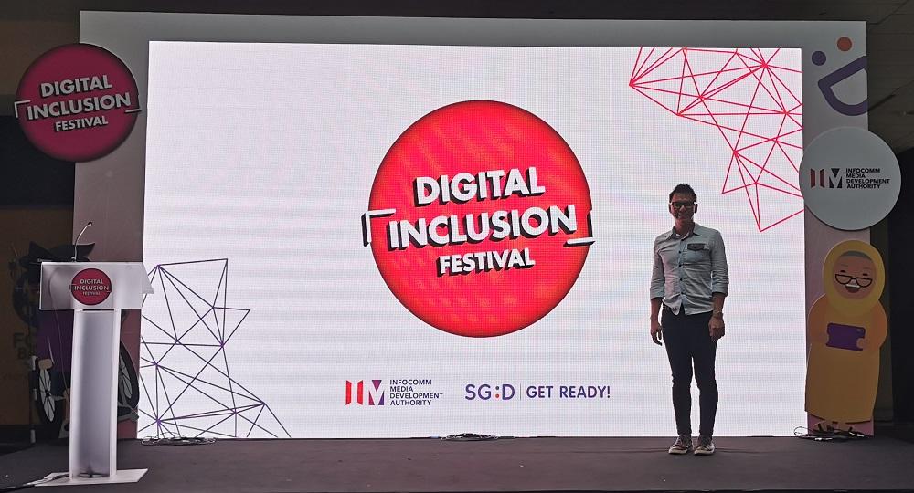 IMDA Digital Inclusion Festival - Emcee Lester