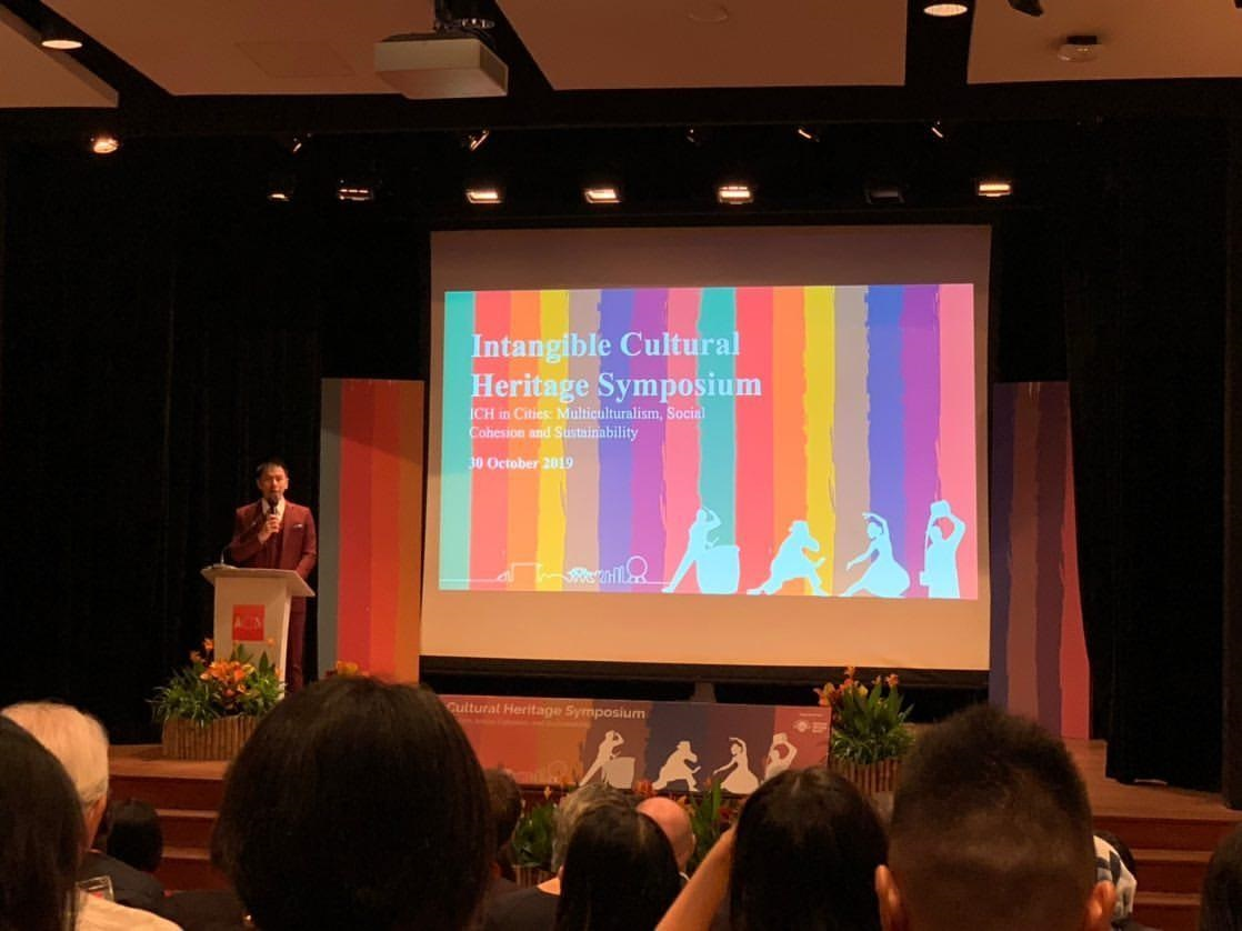 Intangible Cultural Heritage (ICH) Symposium 2019 - emcee lester leo