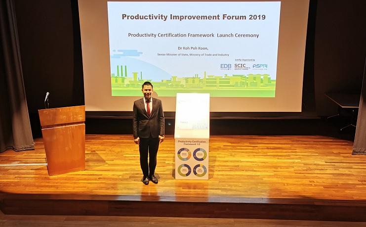 Productivity Improvement Forum 2019 - Emcee Lester Leo