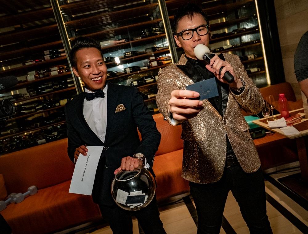 Emcee Singapore Lester Leo - Jaguar Car Club Dinner