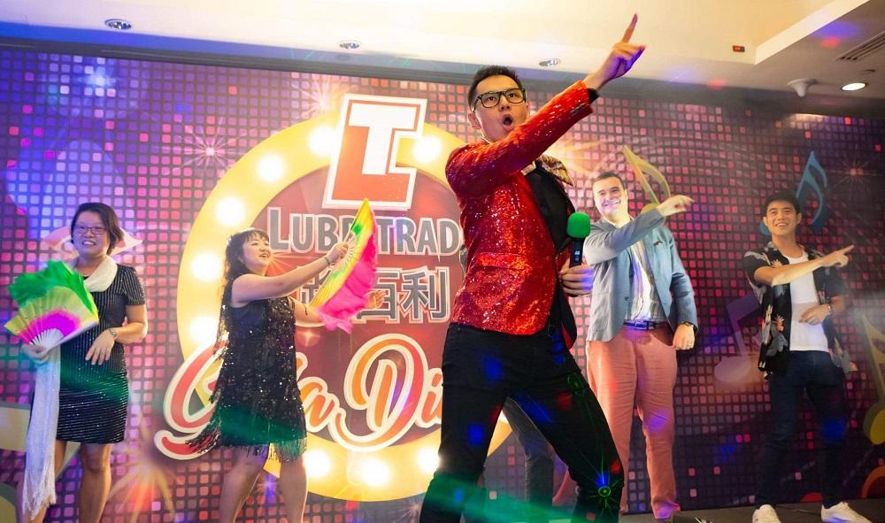 Emcee Singapore Lester Leo - Lubritrade D&D