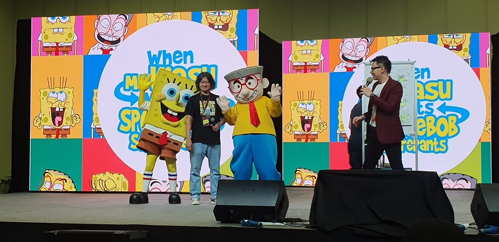 Mr Kiasu X Spongebob Squarepants by Nickelodeon at Singapore Comic Con