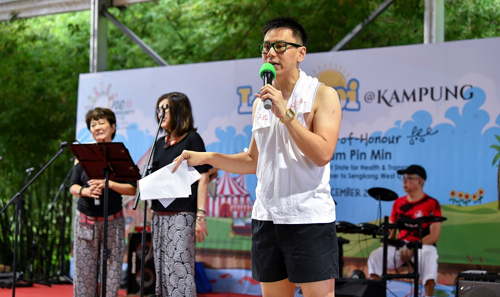 Singapore Emcee Lester Leo - One Community Fiesta 2019