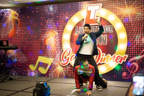 Singapore emcee lester leo for lubritrade dinner and dance