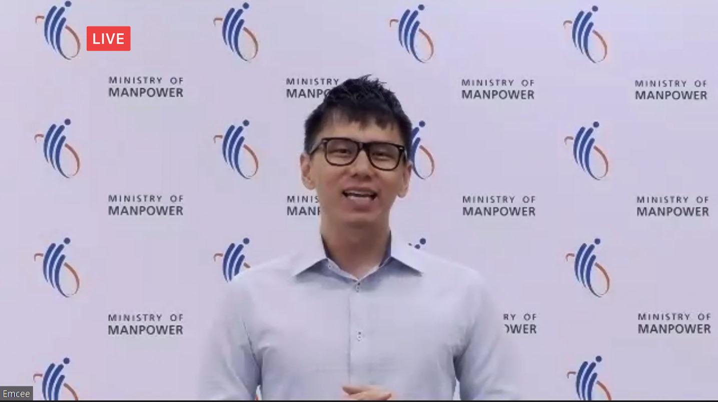 Ministerial virtual event emcee Lester Leo