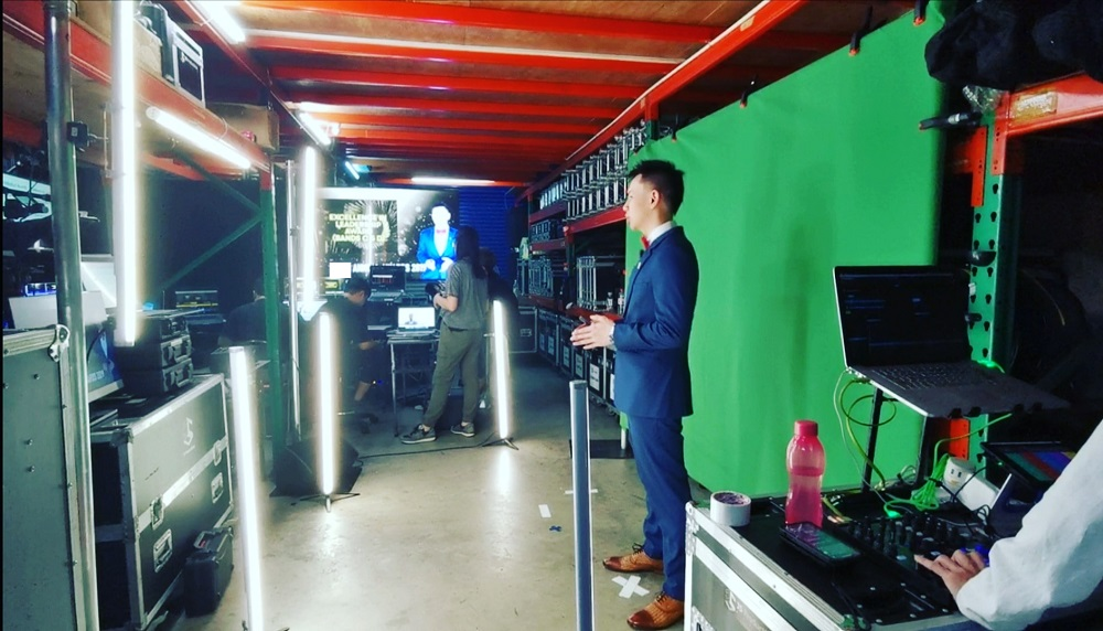 Online virtual events emcee singapore