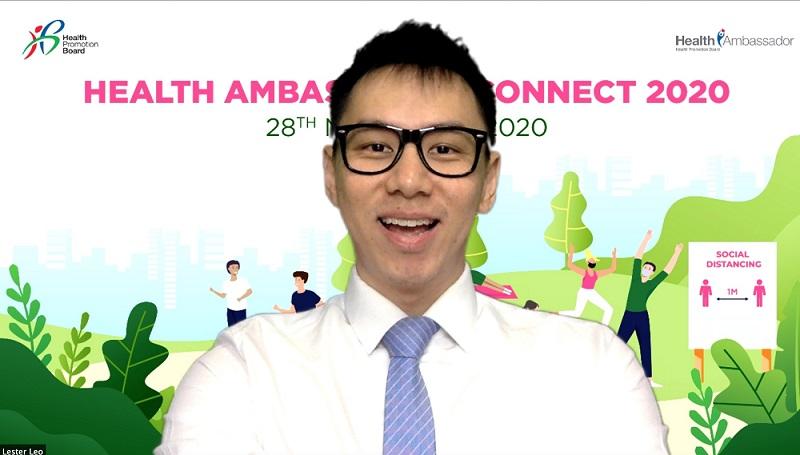 Webinar - HPB Health Ambassadors Connect 2020 - Emcee Lester Leo