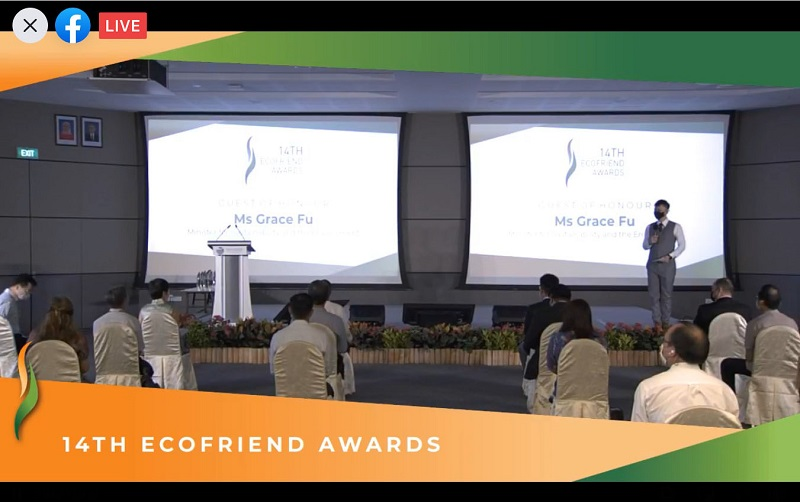 nea ecofriend awards - hybrid event with live streaming - Emcee Lester Leo