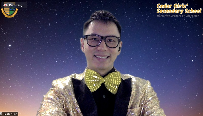 Virtual entertainment prom event - Emcee Lester Leo