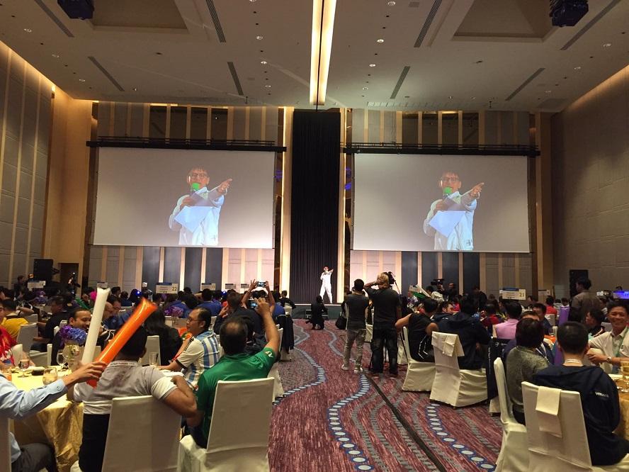 Dell tech summit in Bangkok - overseas international event emcee lester leo