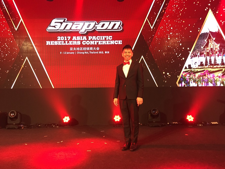 Snap On Asia pacific resellers conference event in Chiang Mai, Thailand - emcee lester